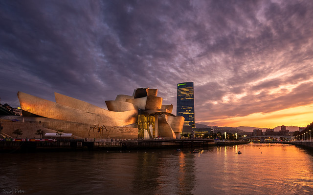 Sunset @ Guggenheim