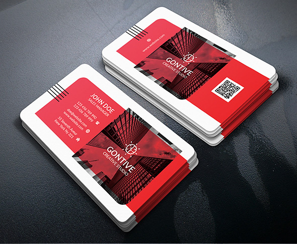 Clean Modern Business Card PSD