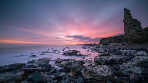 longexposure durhamcoast sunrise chemicalbeach leefilters dawn canon5dmkiii canonef1635mmf4lisusm seascape leegraduatedfilter coastal seaham leelittlestopper