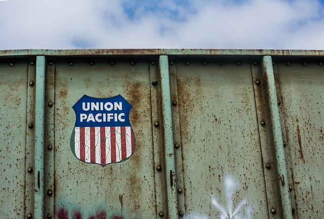 union pacific boxcar