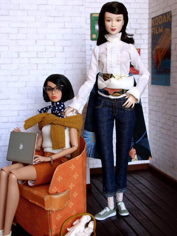 The Buffalo Girls: Staying home...