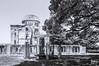 The Hiroshima Peace Memorial, Hiroshima Prefectural Industrial Promotion Hall - Genbaku Dome.Exposición Comercial de la Prefectura de Hiroshima (HMI). Cúpula Genbaku,  Parque Conmemorativo de la Paz de Hiroshima. by marielaoreste