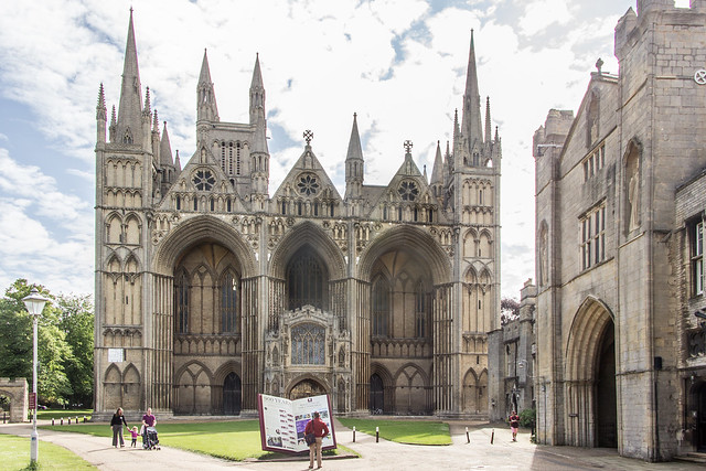 Peterborough Cathedral, Peterborough, England