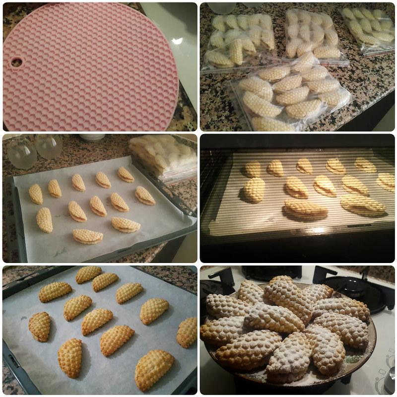 elmalı petek kurabiye