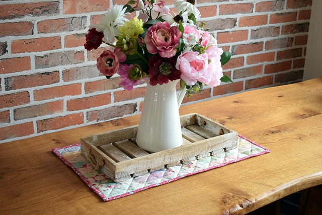 Scrappy Table Topper Vidoe Tutorial