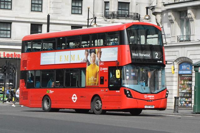 LC67 AKN (HV403) Arriva London