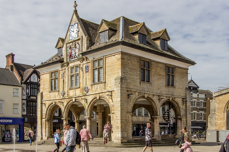 Old Guildhall, Peterborough, England