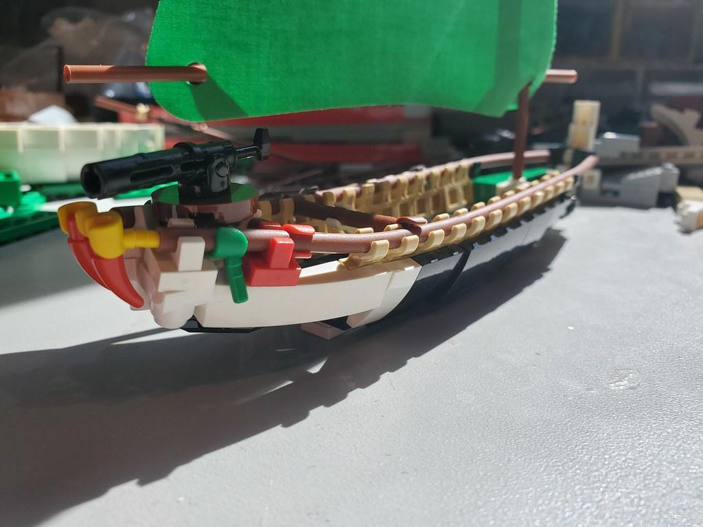 WIP Tyree'de War Canoe