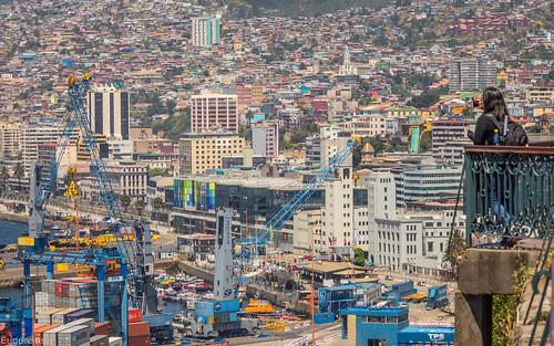 valparaiso chile cityscape city ciudad cidade landscape scape america sudamerica southamerica iberoamerica latinamerica latinoamerica hispanoamerica unescoworldheritage unesco puerto port view urban urbano