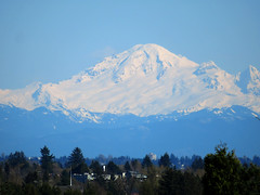 Mount Baker GIMPed by Stephen Rees
