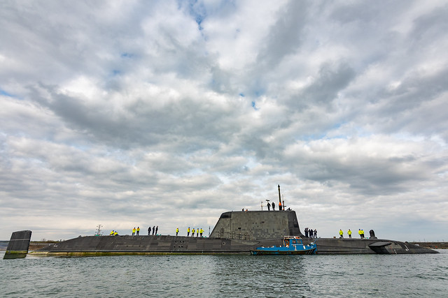 HMS Audacious (S122)