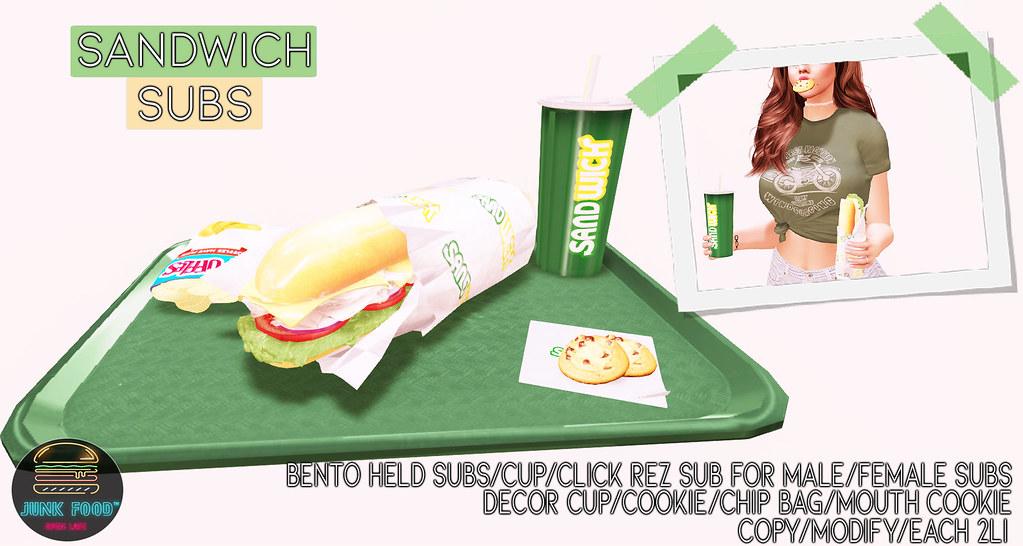 Junk Food – Sandwich Subs Ad