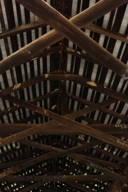 Rafters of Bible Covered Bridge - Copy