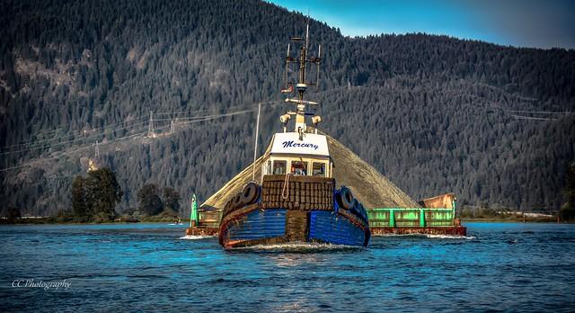 OCEAN GAYLE - Mercury Blues -  Pitt River,  British Columbia