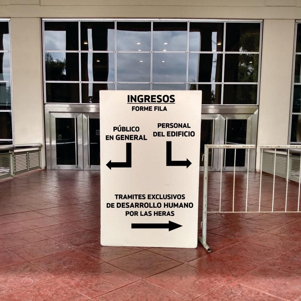 2020-04-12 OBRAS PÚBLICAS: Administración pública: siguen las guardias mínimas y refuerzan controles en el Centro Cívico