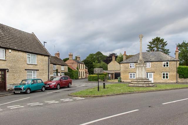 Village Cross, Peakirk, England