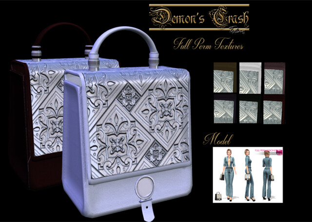 [DC] Textures – MI963824 Retro Handbag