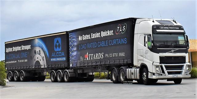 Volvo Globetrotter Outbound Officer Truckstop