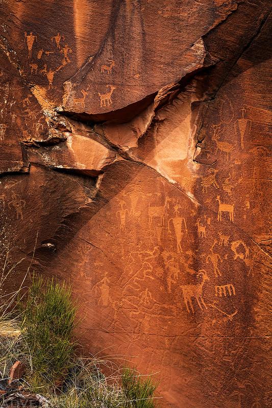 Leftside Petroglyphs