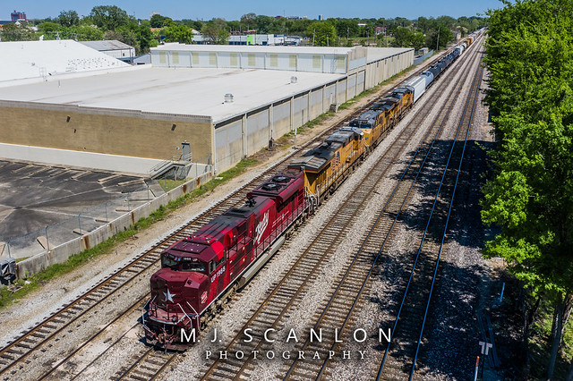 UP 1988 | EMD SD70ACe | UP Memphis Subdivision