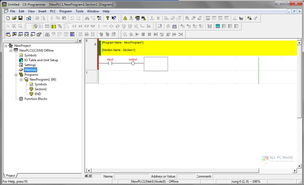 Working with OMRON CX-ONE 4.40 full license