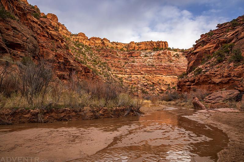 Hiking Down Coyote Wash