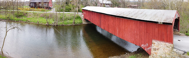 Failor's Mill Bridge Panorama