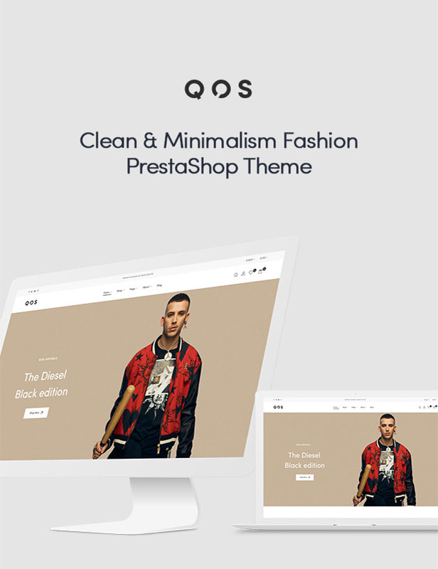 Stunning Clean & Minimal PrestaShop Fashion Theme