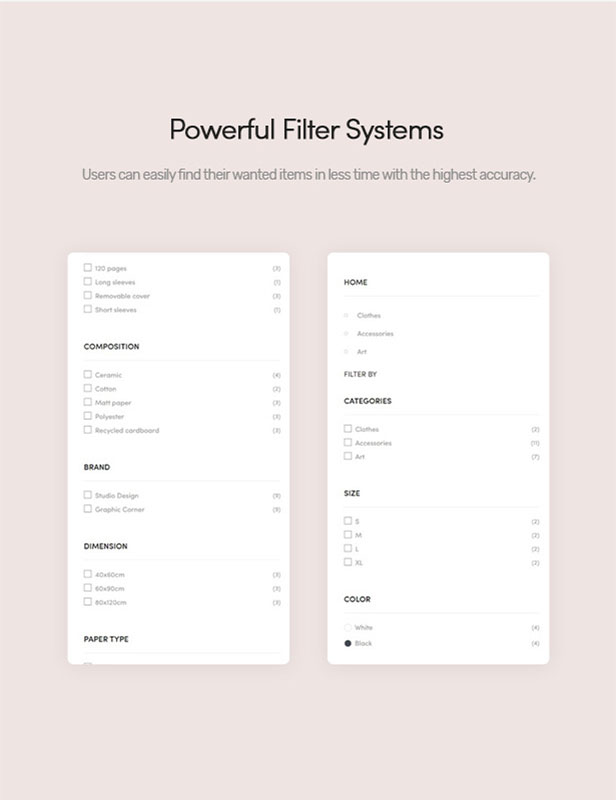 Powerful Filter Systems