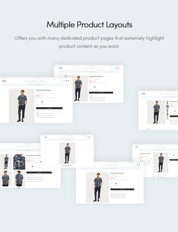 Multiple Product Layouts