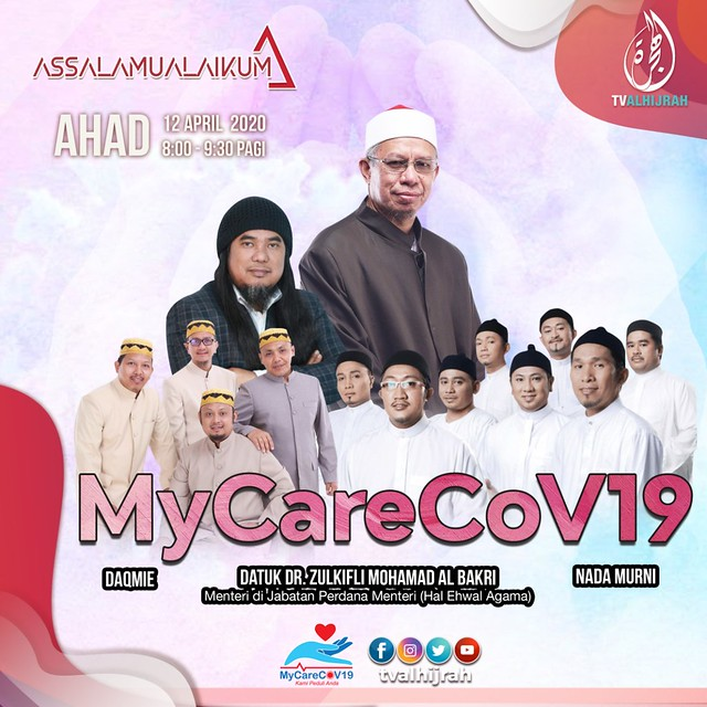 Inisiatif MyCareCoV19 ilham dari YB Menteri Agama