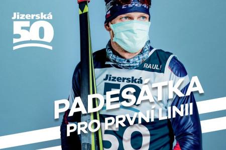 """Sbírka se Jizerské 50 povedla! Projekt """"Padesátka pro první linii"""" přispěje liberecké Univerzitě přes milion korun"""