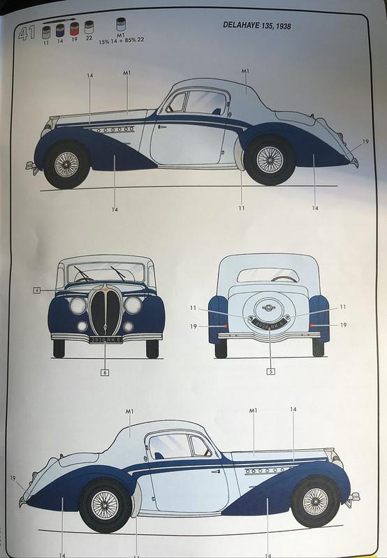DELAHAYE Type 135 modèle 1938 ... Du scratch, du scratch, encore du scratch et toujours du scratch ! Réf 80707 49768140413_914ef114cc_c