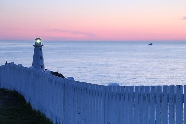 Cape Spear Sunrise Newfoundland