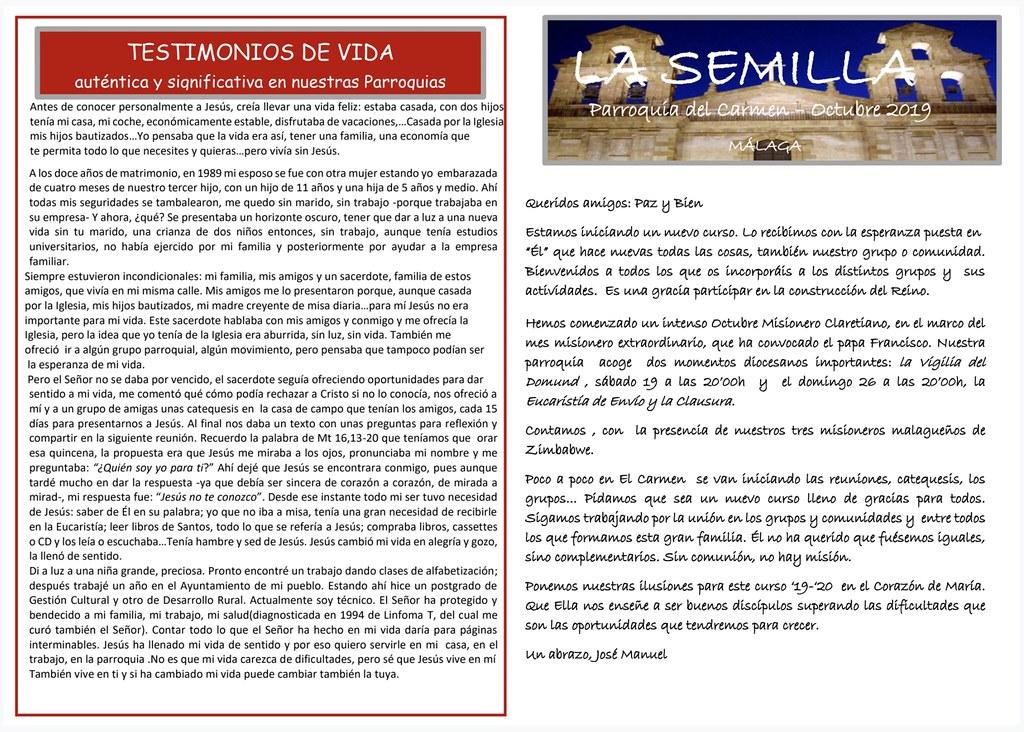 La Semilla (octubre 2019)