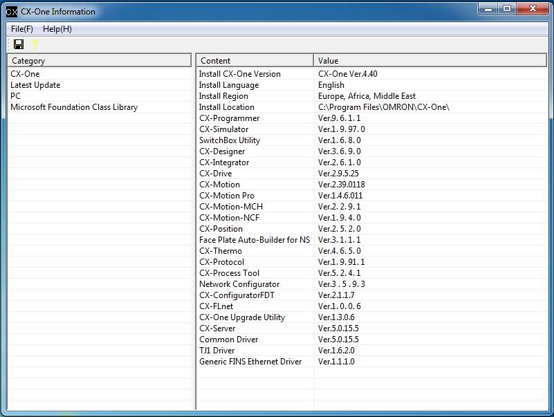 OMRON CX-ONE 4.40 x86 x64 full license
