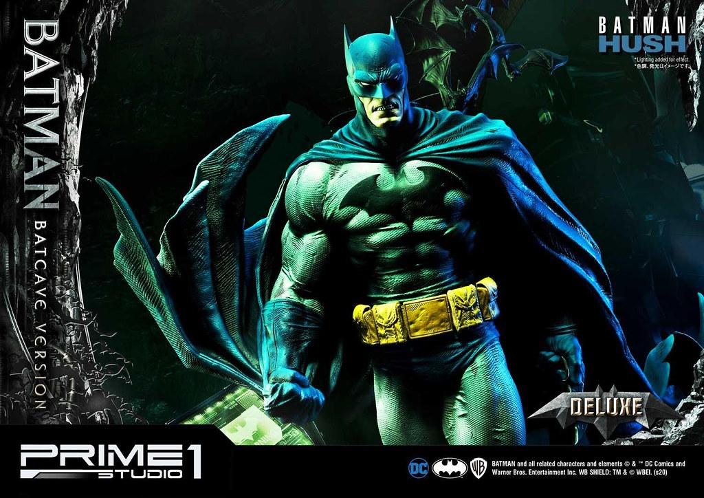 "Prime 1 Studio《蝙蝠俠:緘默》蝙蝠俠 ""蝙蝠洞""Ver (バットマン:ハッシュ バットマン ""バットケイブ""Ver) MMDCBH-05 1/3 比例全身雕像 普通版/DX版"