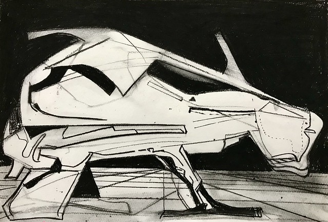 Jim Harris: Interceptor IV Prototype - New Aleutian Islands.