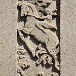 Chicago, Lincoln Park Zoo, Side Panel in The Dream Lady Sculpture Commemorating Eugene Field (Sculptor: Edward Francis McCarten)