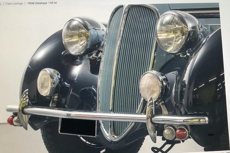 DELAHAYE Type 135 modèle 1938 ... Du scratch, du scratch, encore du scratch et toujours du scratch ! Réf 80707 49768369173_d66889c9ae_c