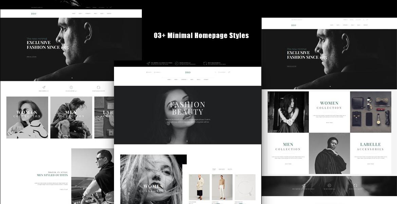 Leo Dio- Excellent Fashion Shop eCommerce Theme