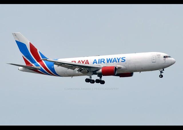 B767-200F | Raya Airways | 9M-RXA | VHHH
