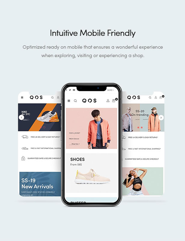 Intuitive Mobile Friendly
