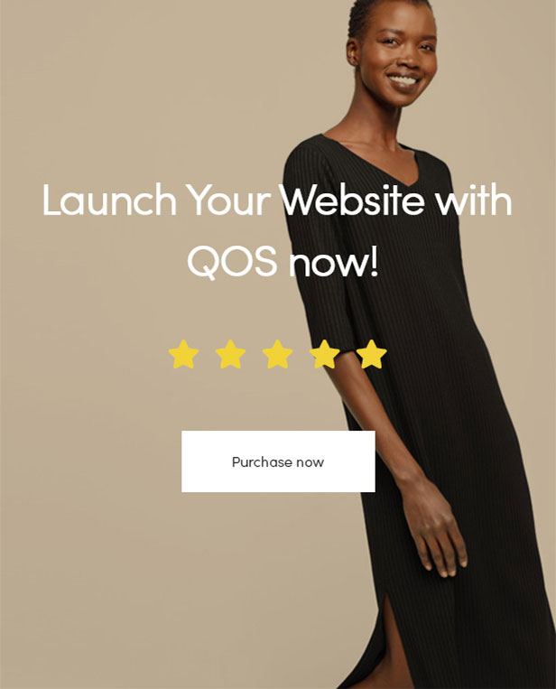 Launch Your Website with QOS now