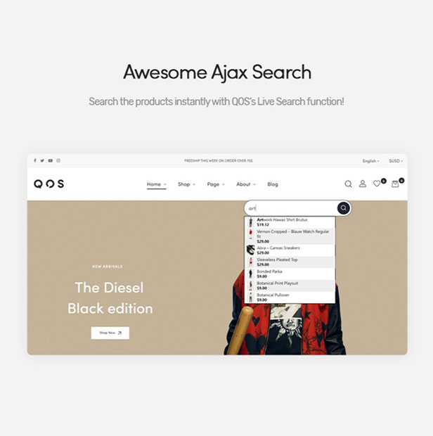 Awesome Ajax Search