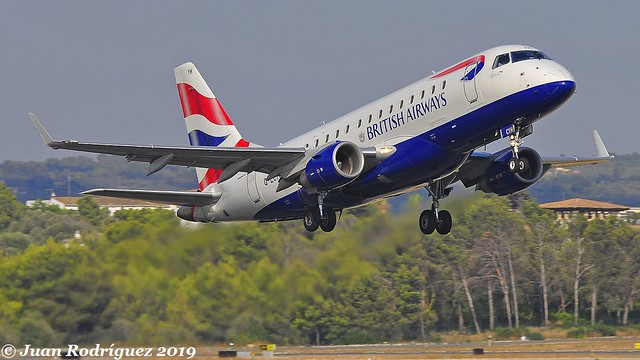 G-LCYH - BA CityFlyer - Embraer ERJ-170STD (ERJ-170-100) - PMI/LEPA