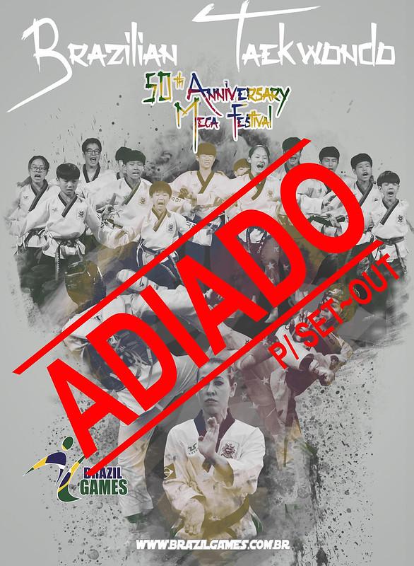Comunicado de Adiamento Brazil Games