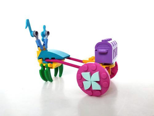 LEGO Trolls World Tour Poppy's Carriage (30555)