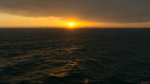 coucherdesoleil sunset fortlauderdale usa 3533 sea mer ocean coucher soleil nature beauté landscape sunsetoverthesea