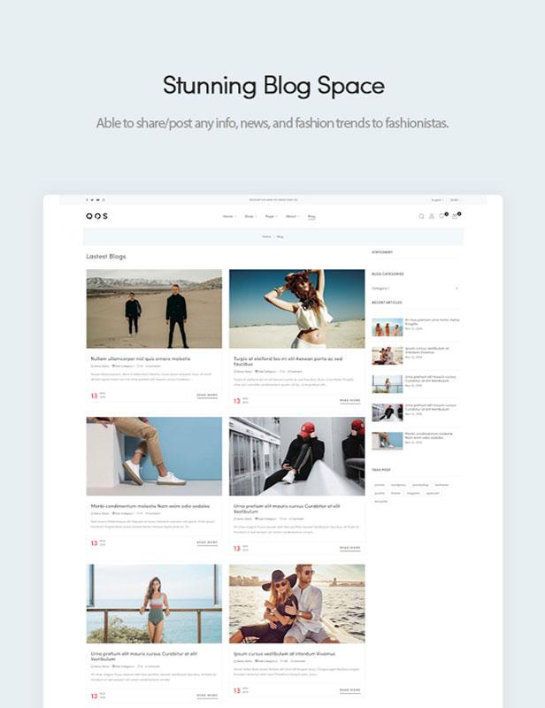 Stunning Blogging Space